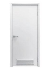 Финская дверь с вентиляционной решеткой