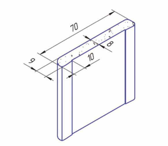 Остекленение, размер 300х400. В техническом исполнении стекло может быть армированным или обычный стеклопаект(цена от 1000р)