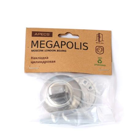 Накладка цилиндровая Megapolis WC-0803-CR
