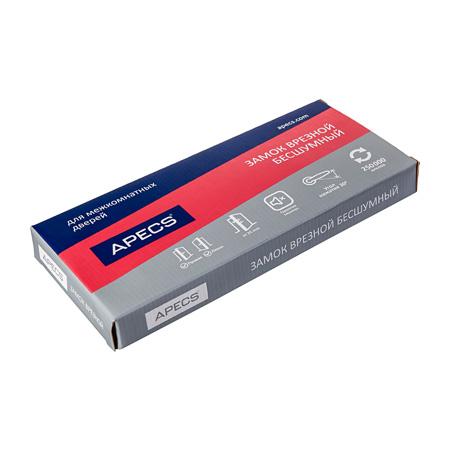 Защёлка врезная Apecs 5300-P-WC-BN в упаковке