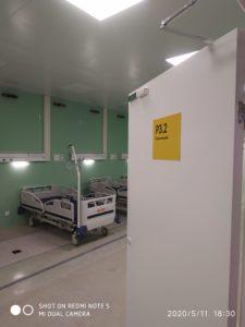 Двери временного госпиталя ВДНХ № 75 - фото 2